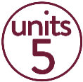 5 Units Red