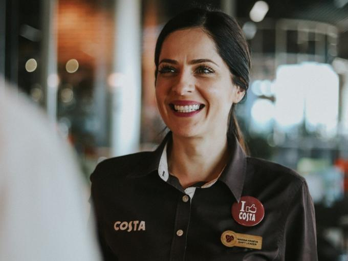 Costa Coffee Employee