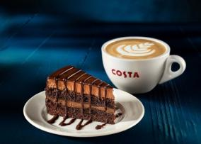 Costa Chocolate Cake